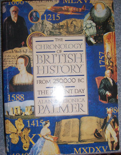 Image for Chronology of British History, The: From 250,000 BC to the Present Day