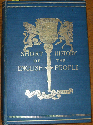 Image for Short History of the English People: Vol III