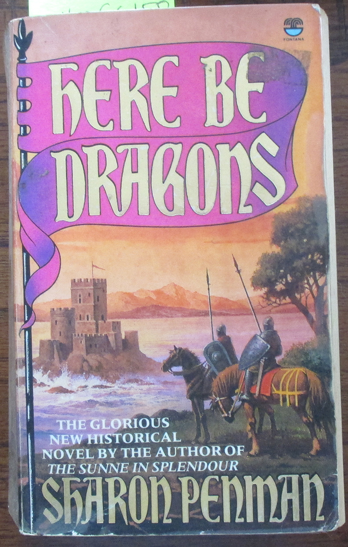 Image for Here Be Dragons: The Welsh Princes Trilogy (#1)