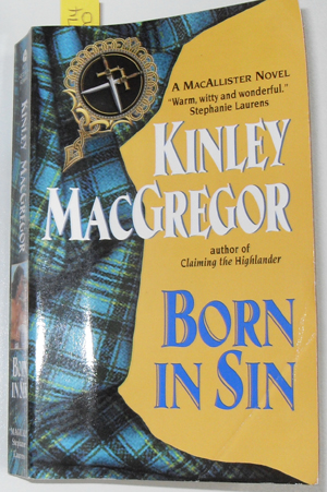 Image for Born in Sin: A MacAllister Novel