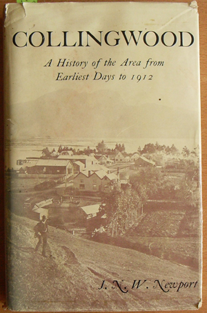 Image for Collingwood: A History of the Area from Earliest Days to 1012