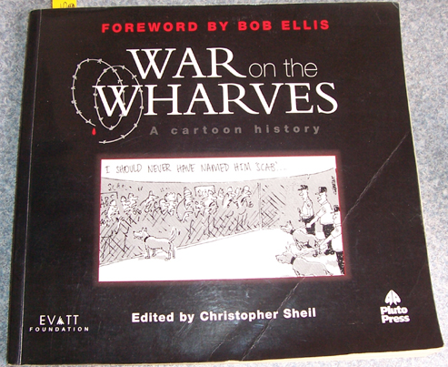 Image for War on the Wharves: A Cartoon History