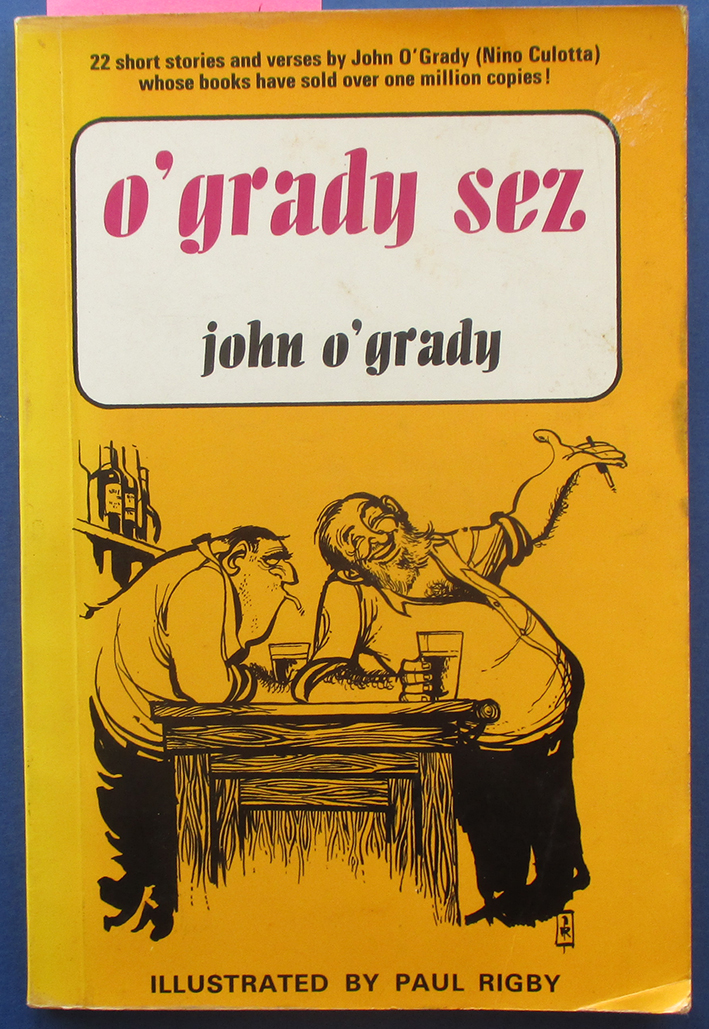 Image for O'Grady Sez