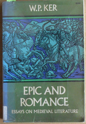 Image for Epic and Romance: Essays on Medieval Literature