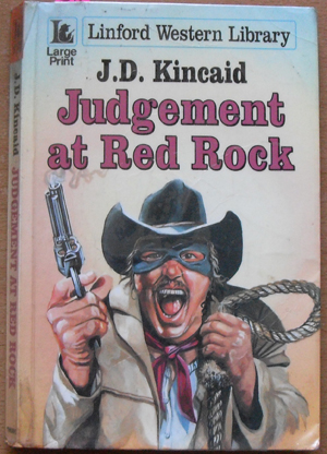 Image for Judgement at Red Rock: Linford Western Library (Large Print)