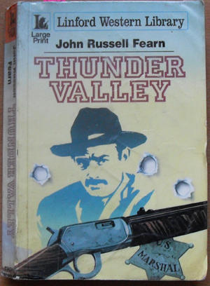 Image for Thunder Valley: Linford Western Library (Large Print)