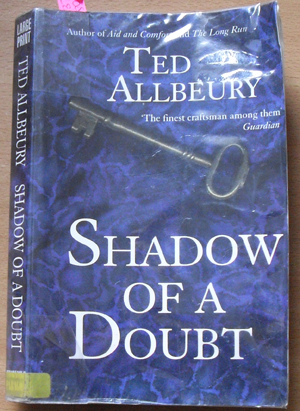 Image for Shadow of a Doubt (Large Print)