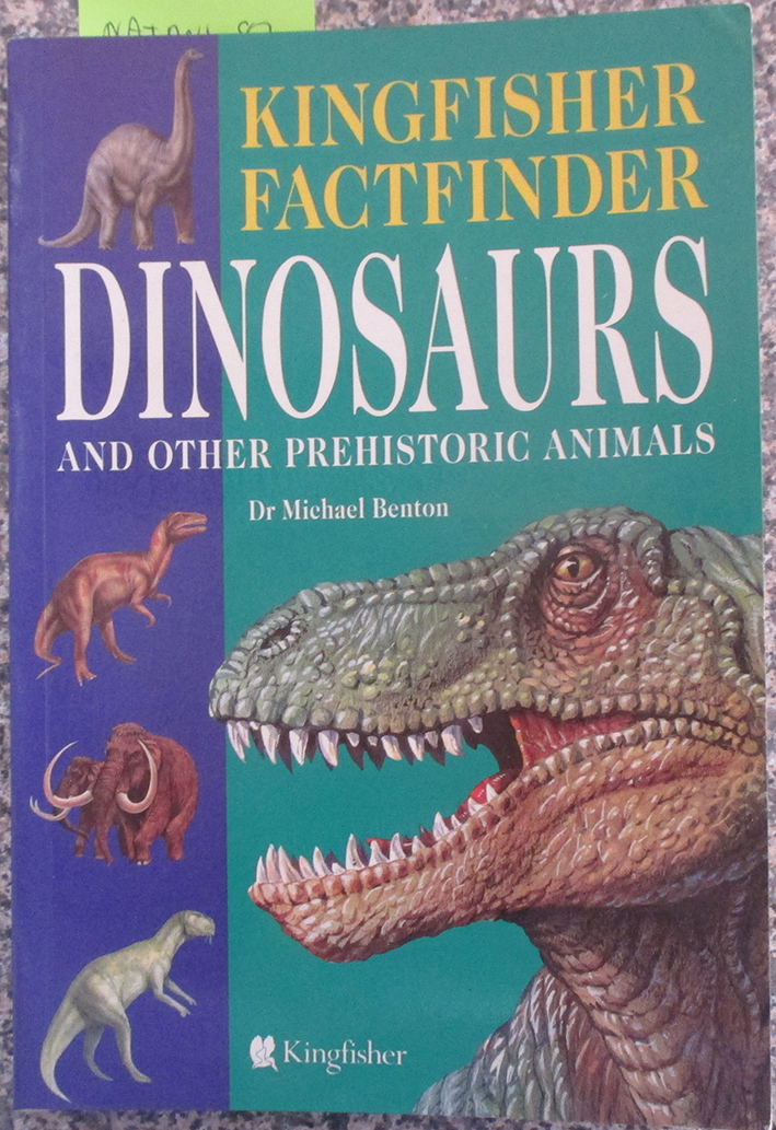 Image for Dinosaurs and Other Prehistoric Animals (Kingfisher Factfinder)