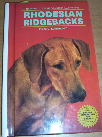 Image for Rhodesian Ridgebacks