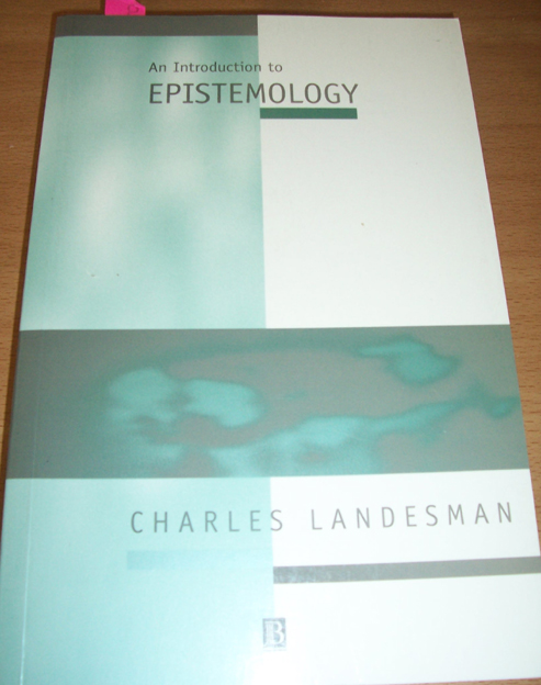 Image for Introduction to Epistemology, An