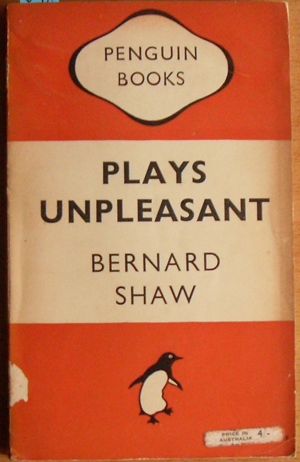 Image for Plays Unpleasant: Widowers' Houses; The Philander; and Mrs Warren's Profession