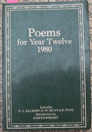 Image for Poems For Year Twelve 1980
