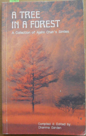 Image for Tree in a Forest, A: A Collection of Ajahn Chah's Similes