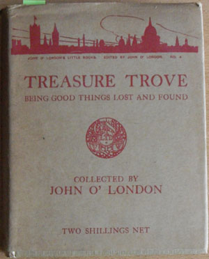 Image for Treasure Trove: Being Good Things Lost and Found