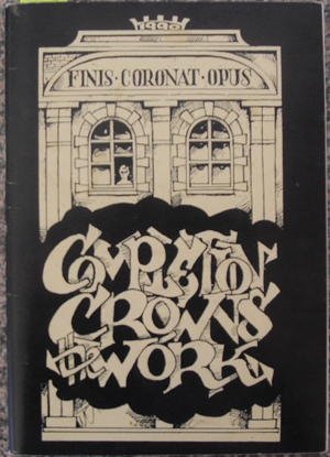 Image for Completion Crowns the Work: Poems and Prints From Newcastle - Poetry in the Pub, Newcastle, Australia 1990