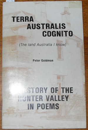 Image for Terra Australis Cognito: A History of the Hunter Valley in Poems