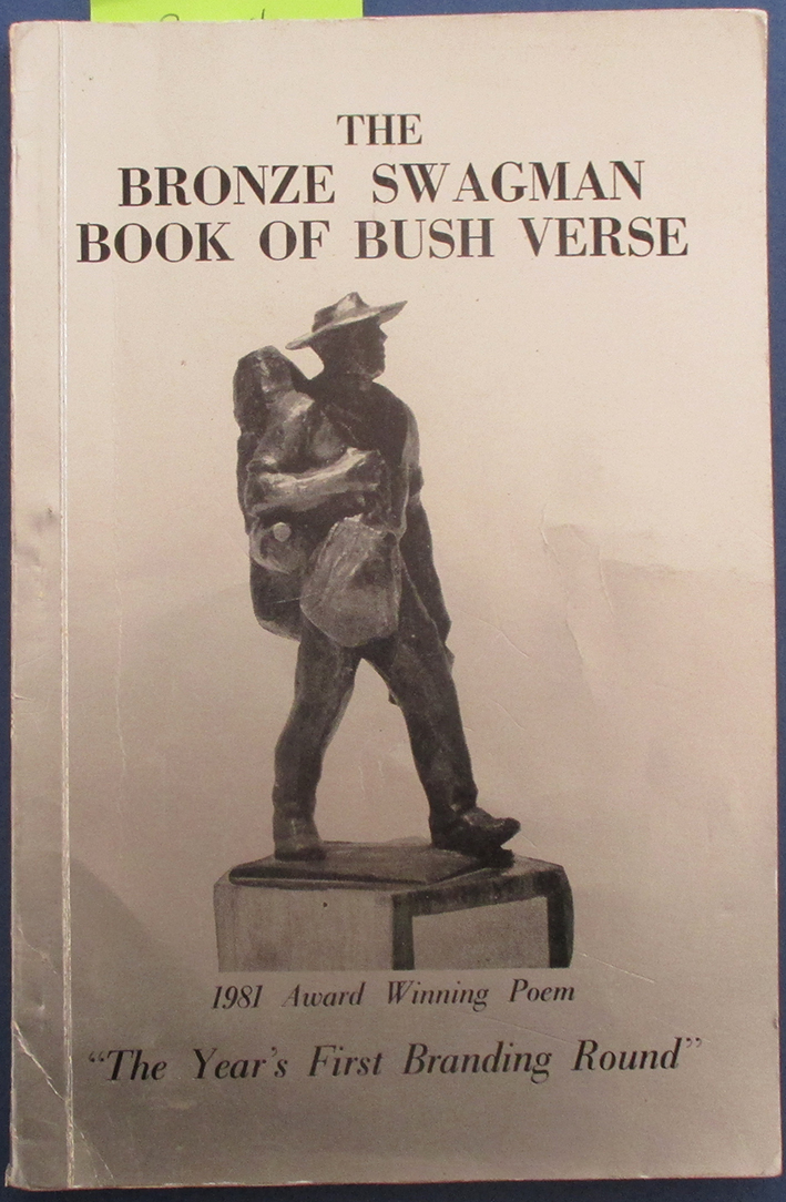 "Image for Bronze Swagman Book of Bush Verse, The (""The Year's First Branding Round"" - 1981 Winning Verse)"