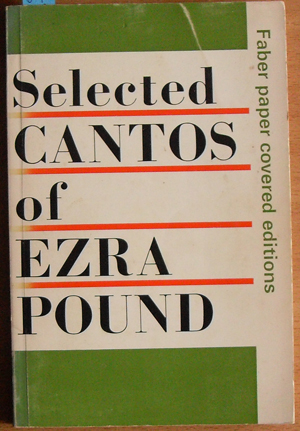 Image for Selected Cantos of Ezra Pound