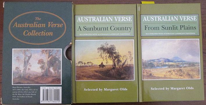 Image for Australian Verse Collection, The: From Sunlit Plains (Vol 1) and A Sunburnt Country (Vol 2)