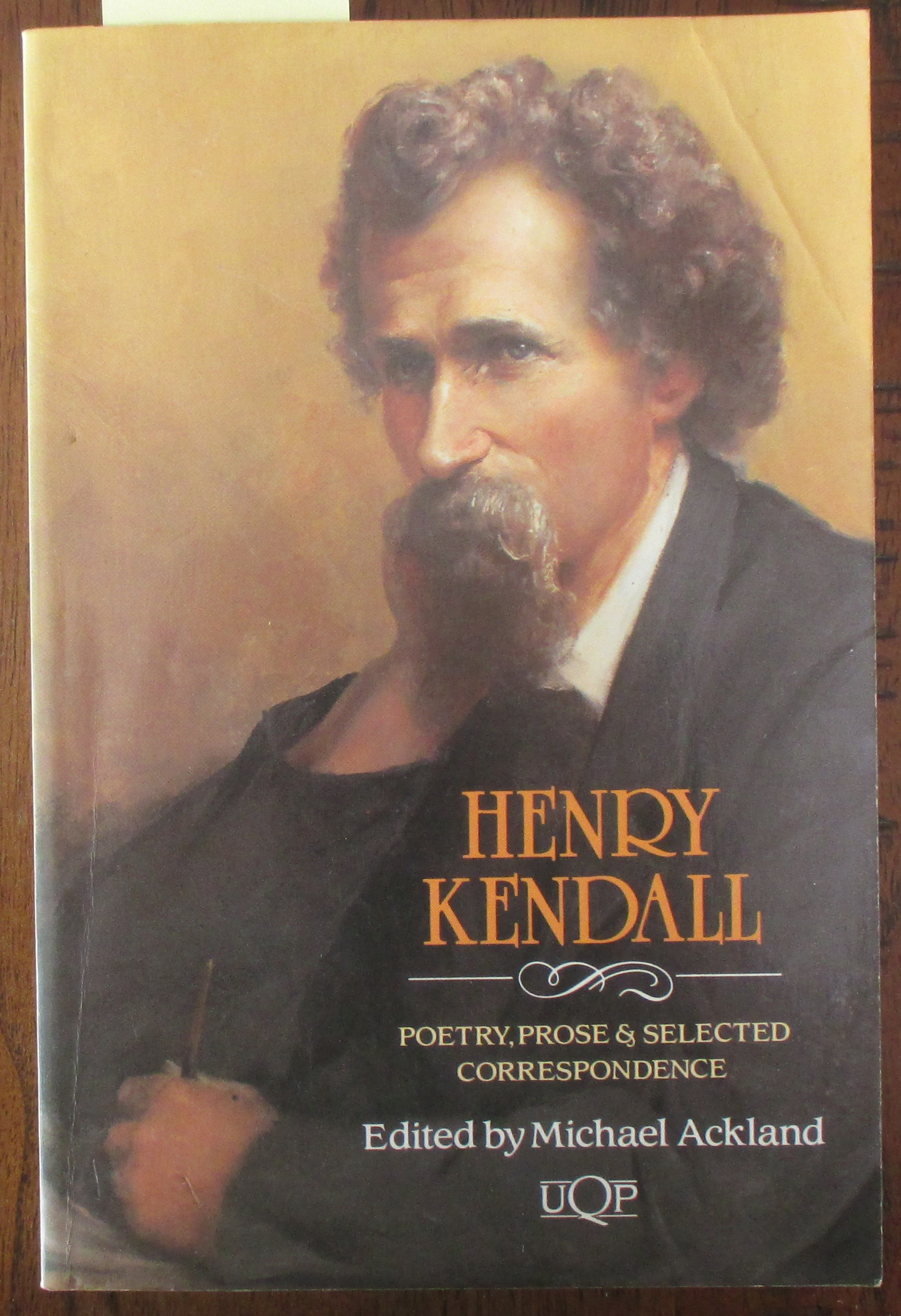 Image for Henry Kendall: Poetry, Prose & Selected Correspondence