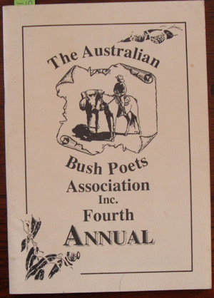 Image for Australian Bush Poets Association Inc. Fourth Annual, The