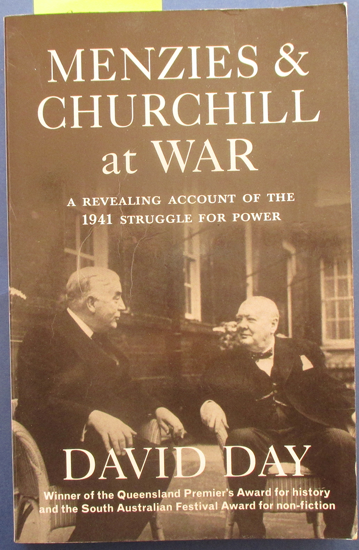 Image for Menzies & Churchill at War: A Revealing Account of the 1941 Struggle for Power