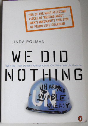 Image for We Did Nothing: Why the Truth Doesn't Always Come Out When the UN Goes In