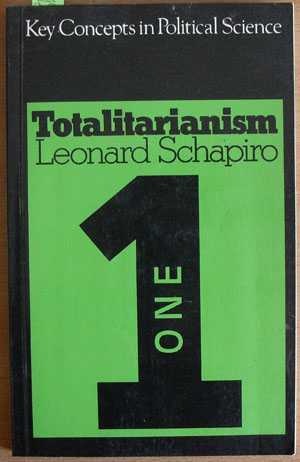 Image for Totalitarianism: Key Concepts in Political Science