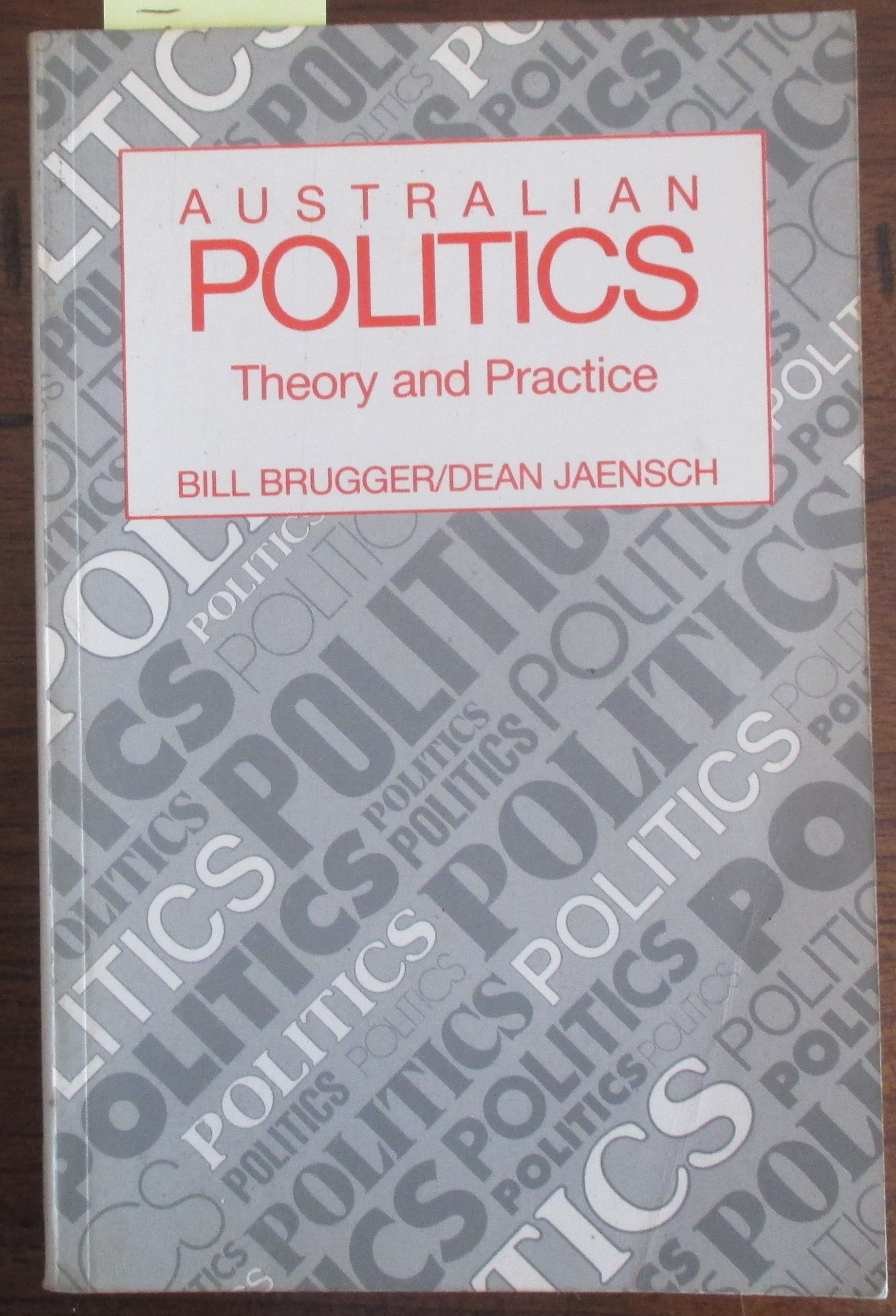 Image for Australian Politics: Theory and Practice