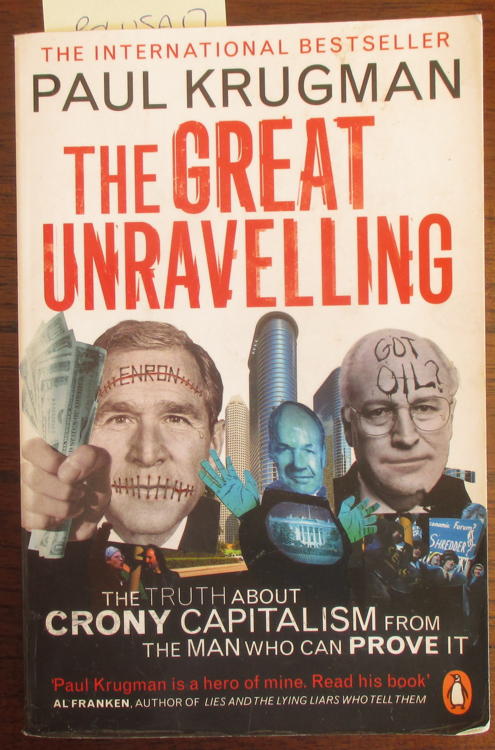 Image for Great Unravelling, The: FromBoom to Bust in Three Scandalous Years