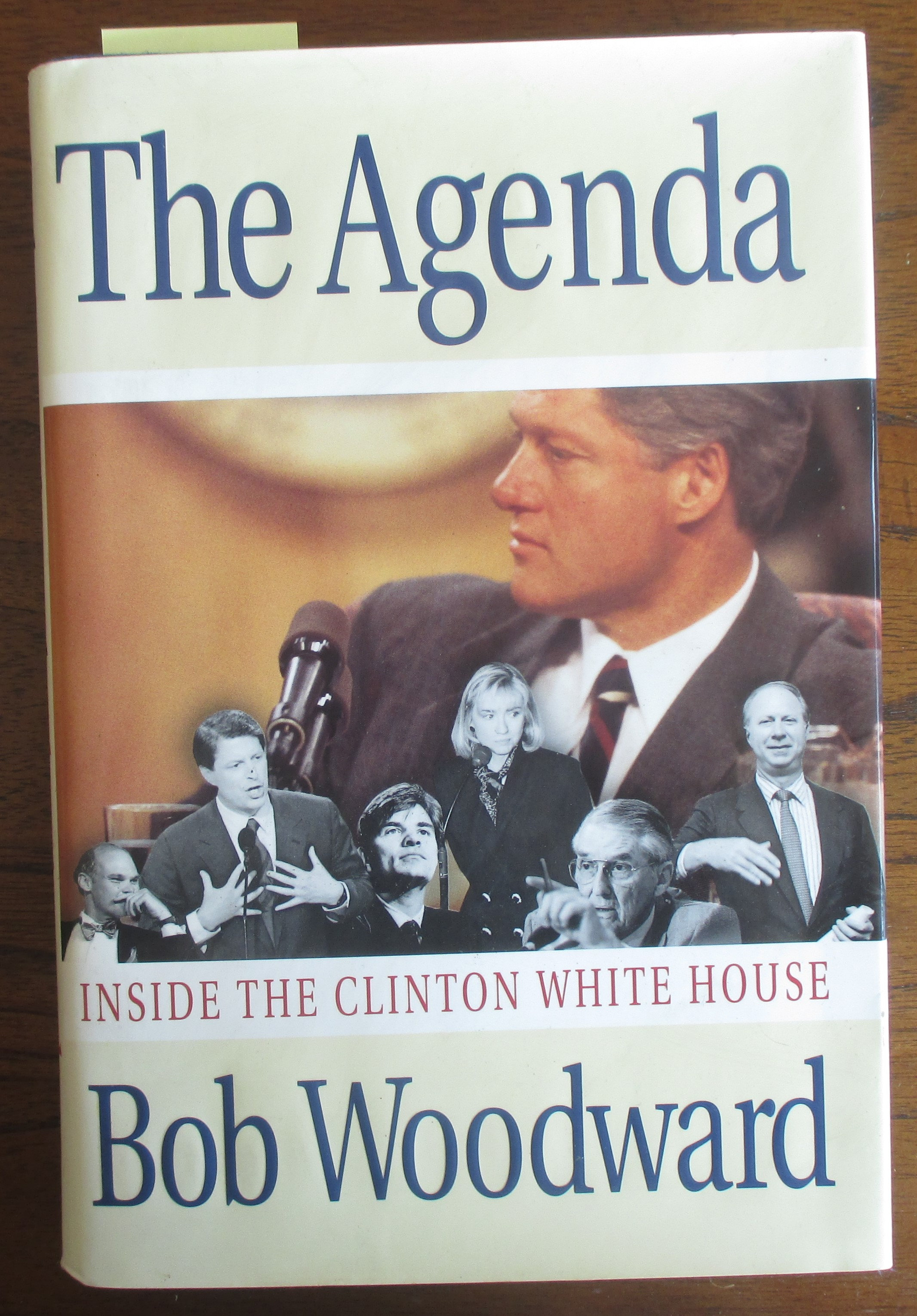 Image for Agenda, The: Inside the Clinton White House