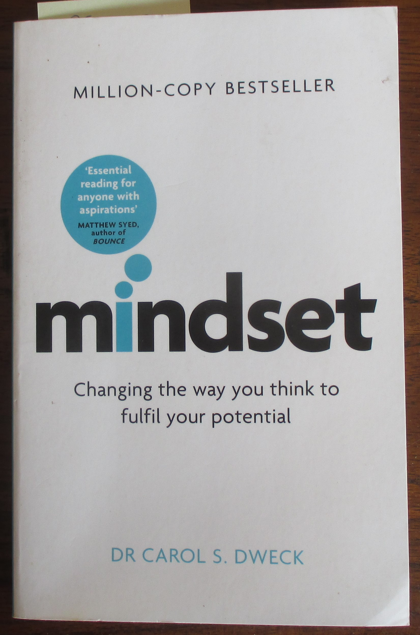 Image for Mindset: Changing the Way You Think to Fulfil Your Potential