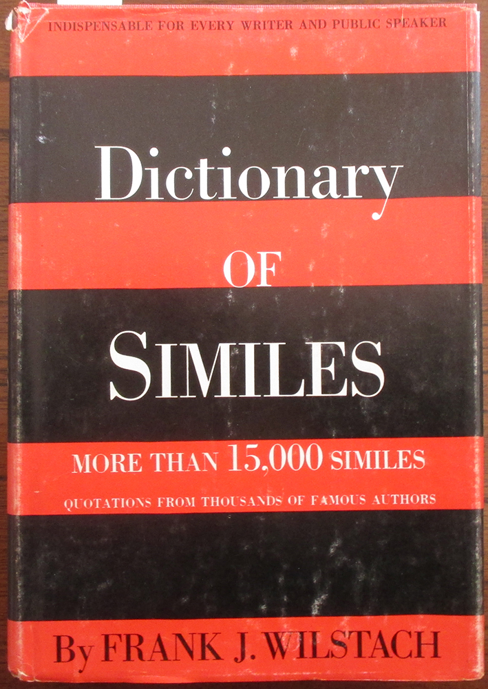 Image for Dictionary of Similes