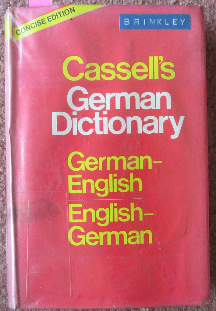 Cassell's German Dictionary Concise Edition (German-English, English-German)