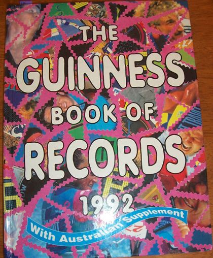 Image for Guinness Book of Records 1992, The