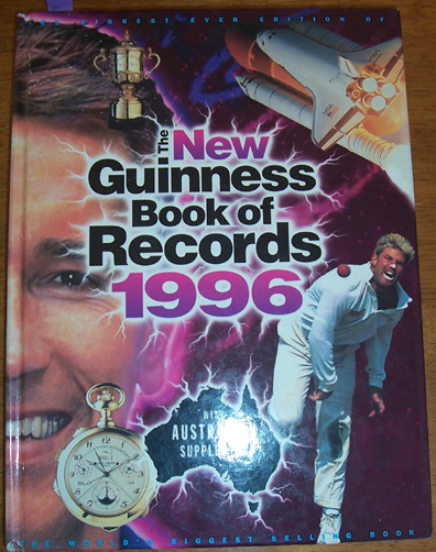 Image for New Guinness Book of Records 1996, The