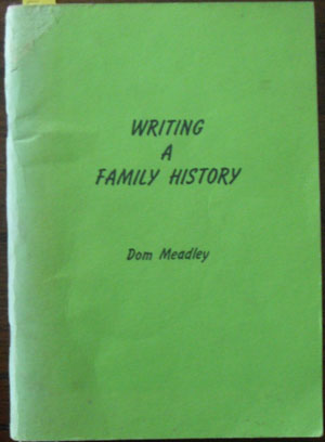 Image for Writing a Family History