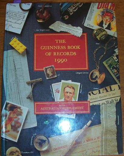 Image for Guinness Book of Records 1990, The