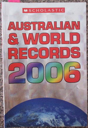 Image for Australian & World Records 2006