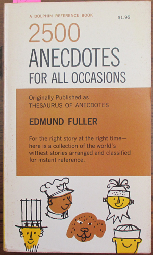 Image for 2500 Anecdotes for All Occasions