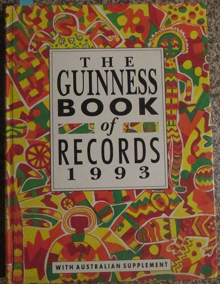 Image for Guinness Book of Records 1993, The