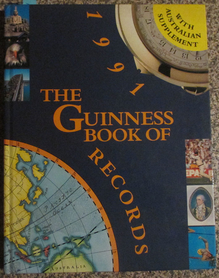 Image for Guinness Book of Records 1991, The