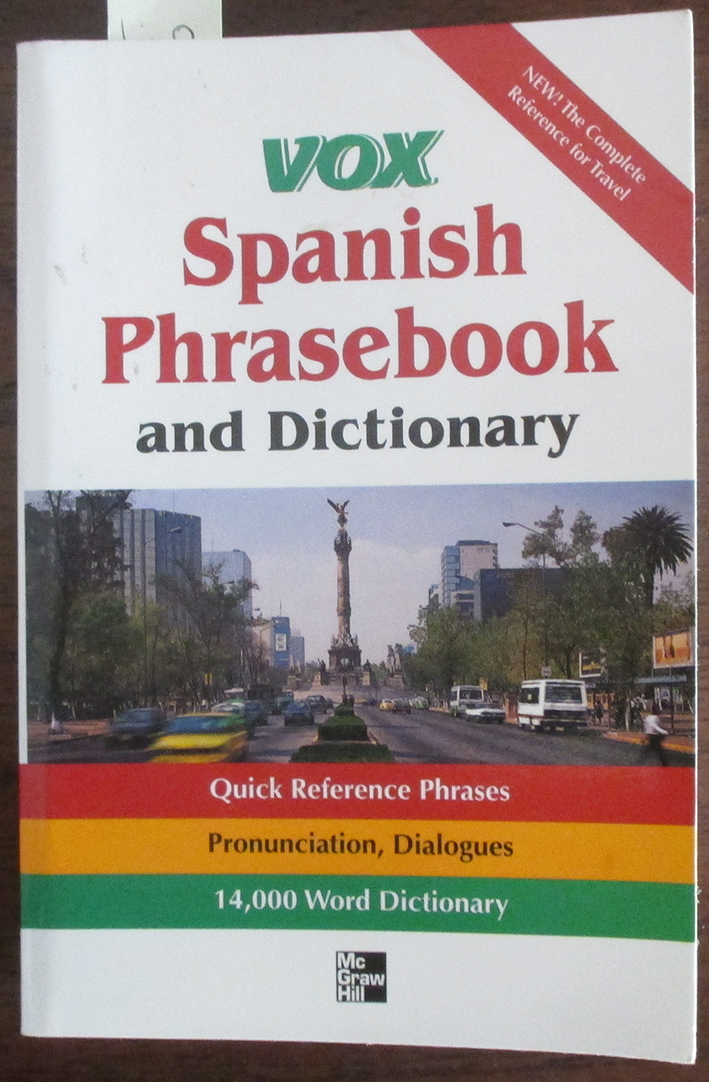 Image for Vox Spanish Phrasebook and Dictionary
