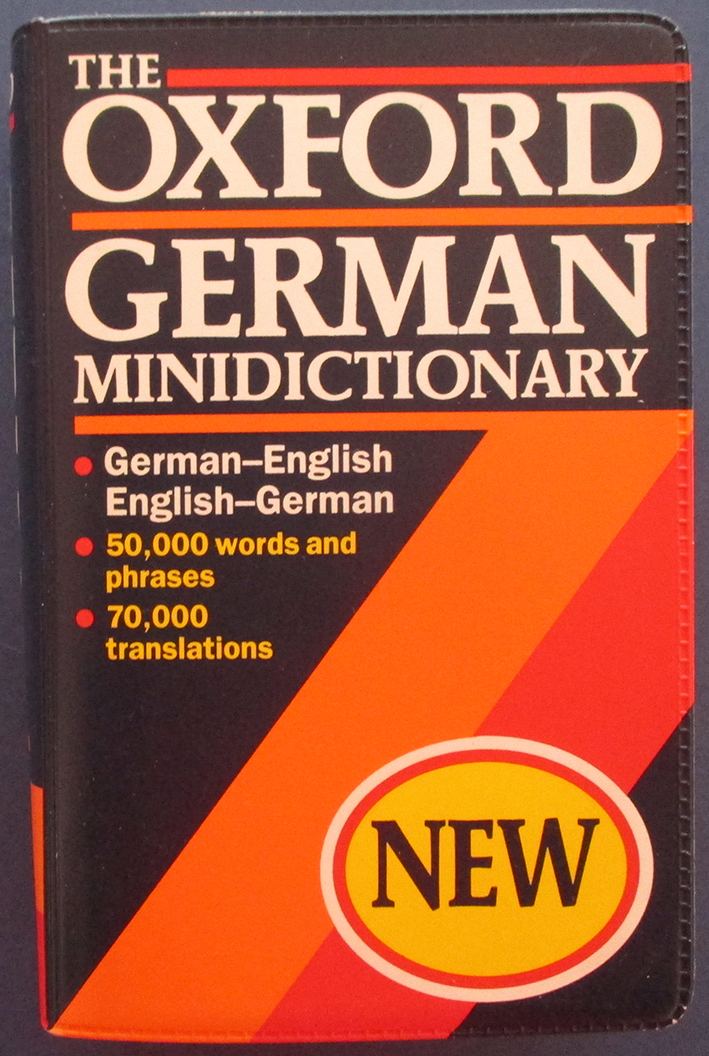 Image for Oxford German Minidictionary, The