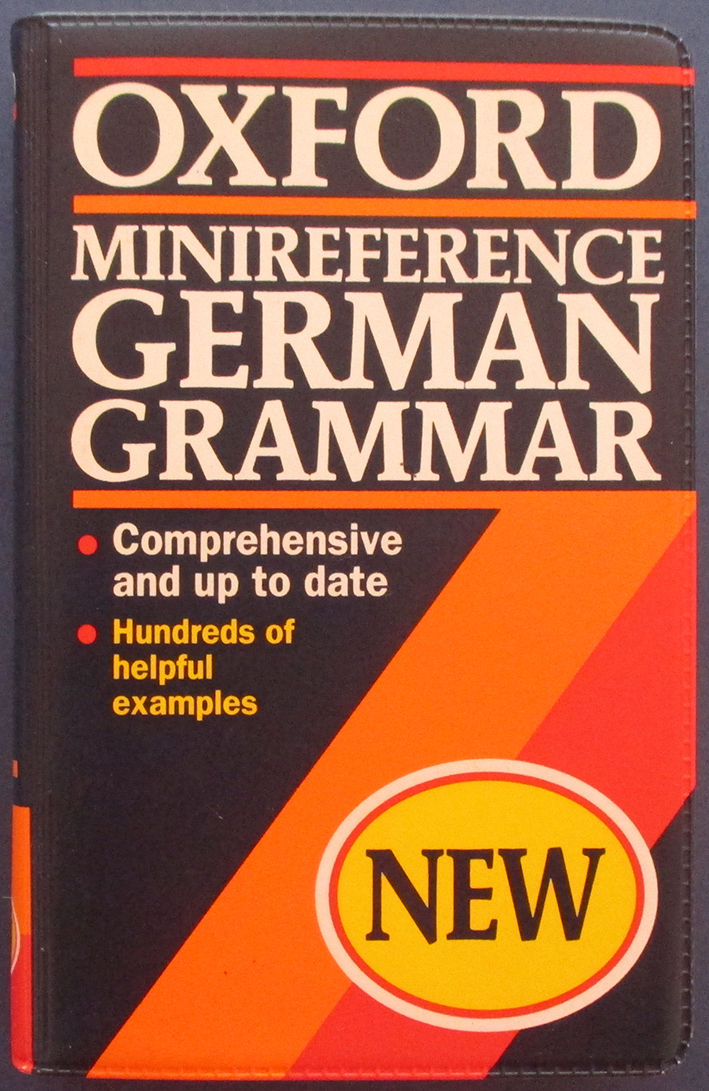 Image for Oxford Minireference German Grammar