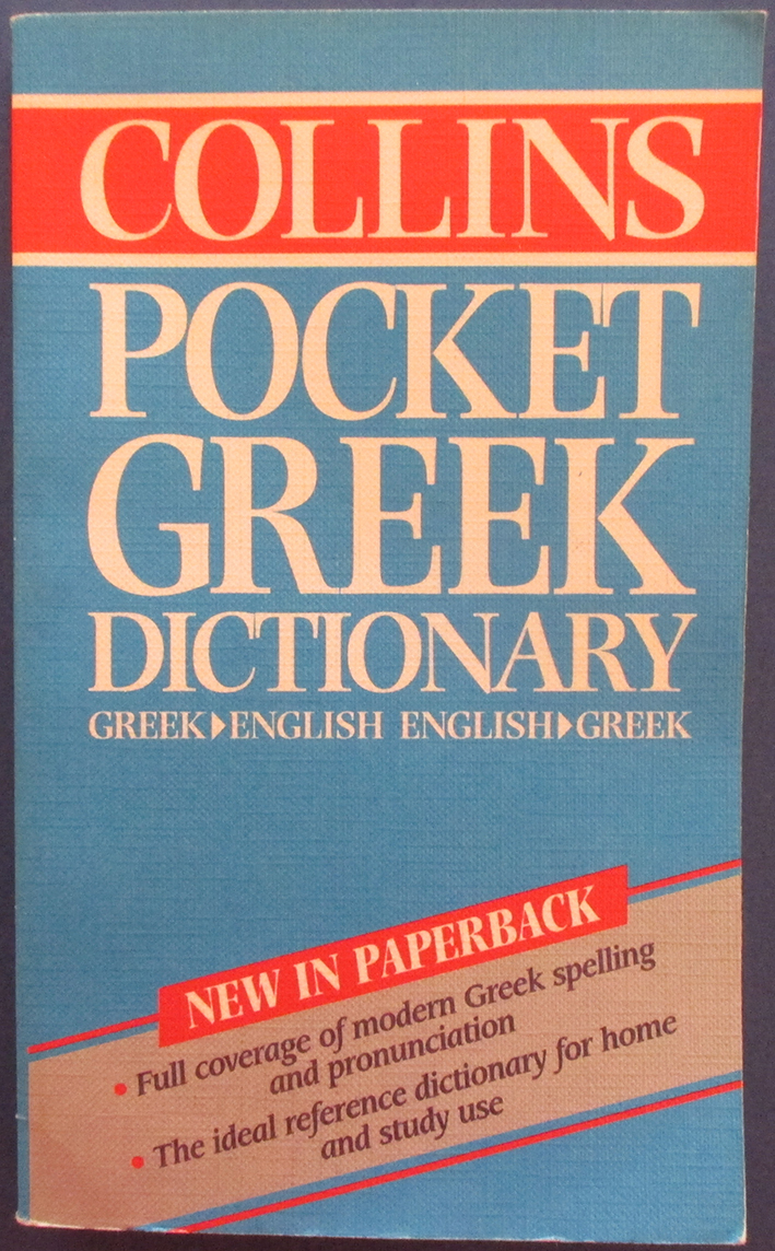 Image for Collins Pocket Greek Dictionary