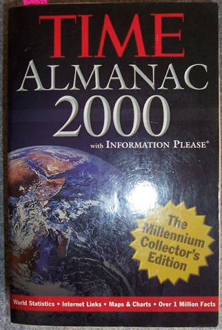 Image for Time Almanac 2000: The Ultimate Worldwide Fact and Information Source