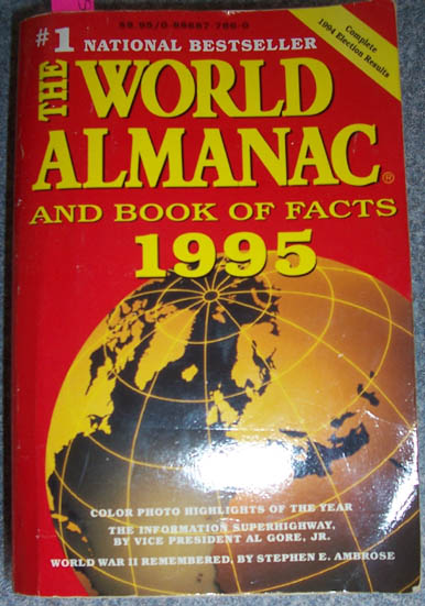 Image for World Almanac and Book of Facts, The: 1995