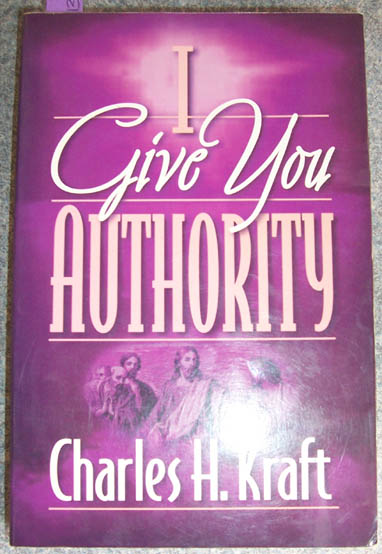 Image for Give You Authority, I