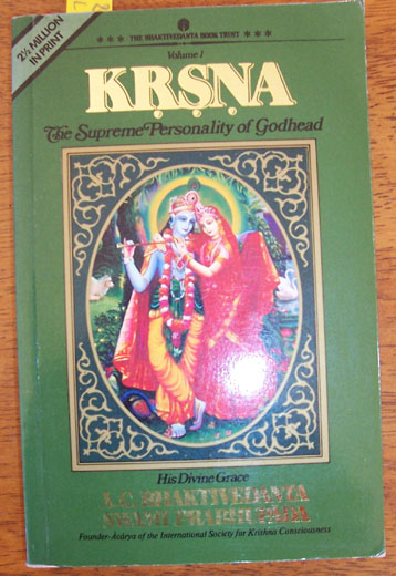 Image for KRSNA - The Supreme Personality of Godhead (Volume 1)